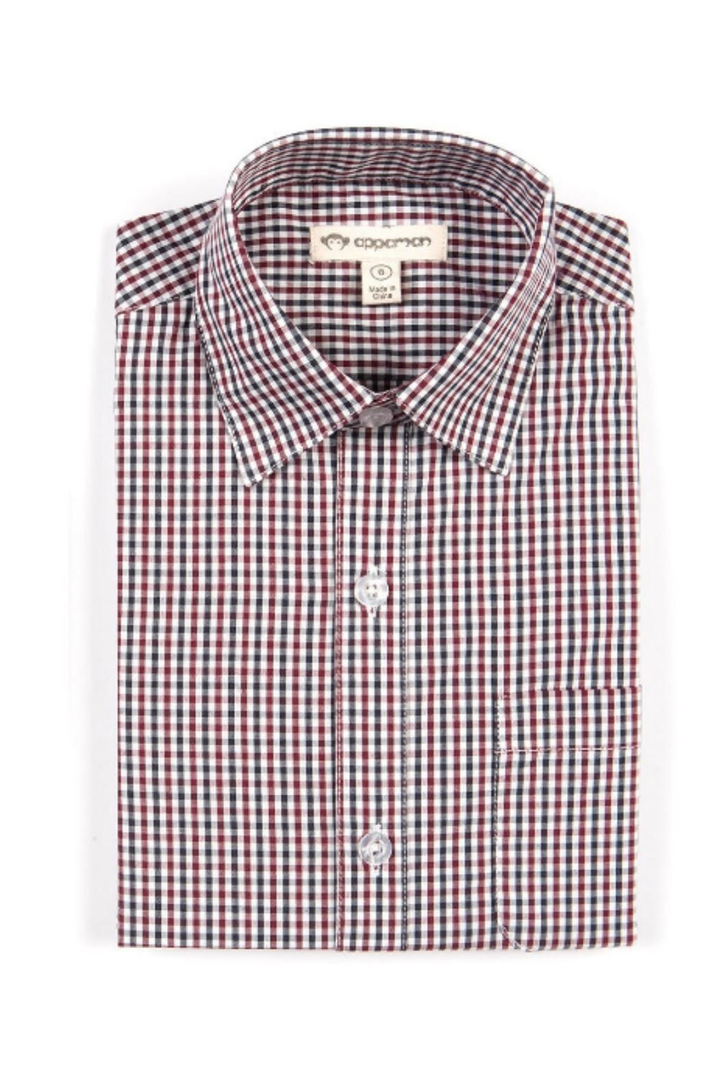 Appaman Standard Button-Up  Check - Main Image