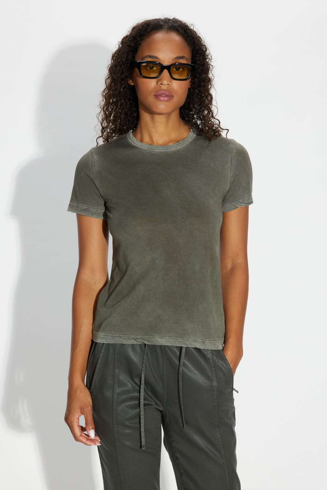 Cotton Citizen Standard Tee - Back Cropped Image