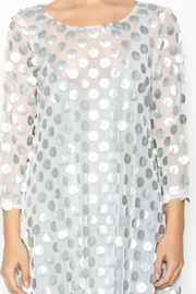 Staples Silver and White Mod Tunic - Other