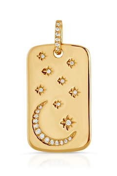 Miranda Frye Star and Moon Pendant - Product List Image