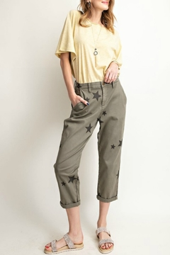 R+D Hipster Emporium  Star Boyfriend Pant - Alternate List Image