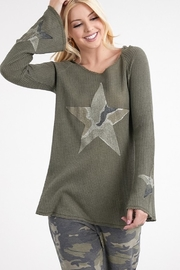 Tparty Star Camo Hoodie - Product Mini Image
