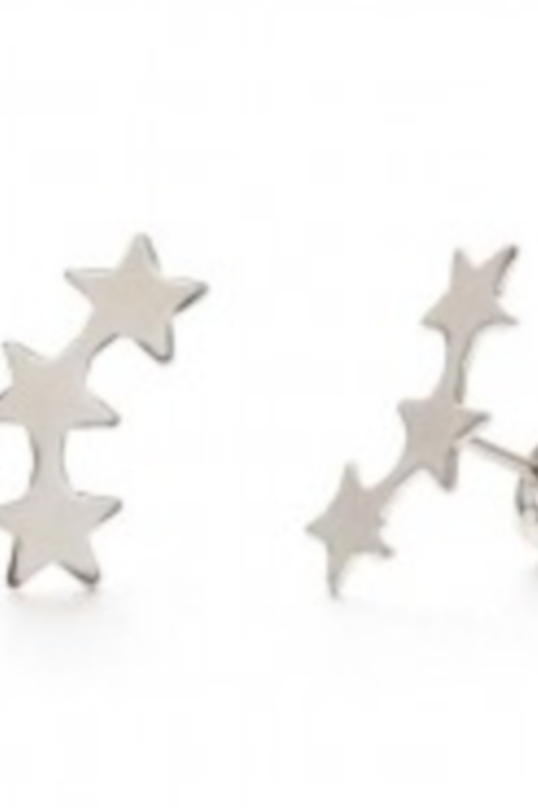 Amano Trading Star Cluster Stud Ezrring - Front Cropped Image