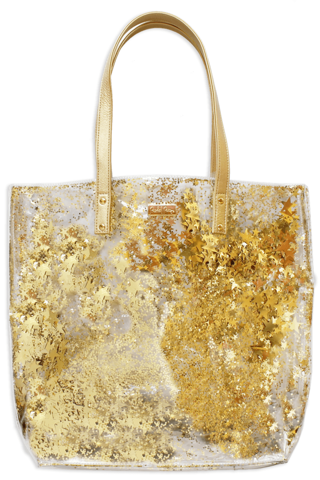 Packed Party Star Confetti Bucket Bag - Front Cropped Image