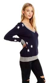 Chaser Star Cotton Cashmere Pullover - Product Mini Image