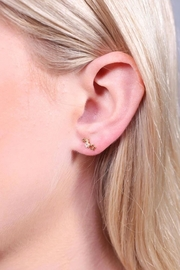 Caroline Hill Star Crawler Earrings - Front cropped