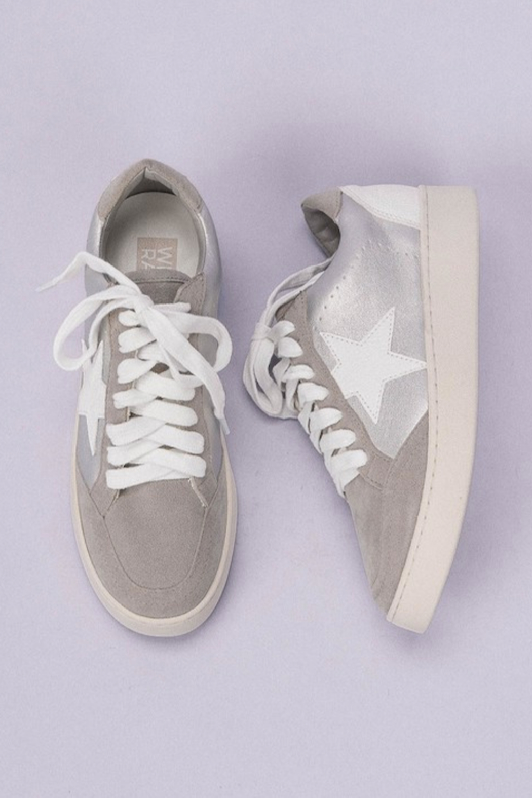 miracle miles  Star Design Sneaker - Front Cropped Image