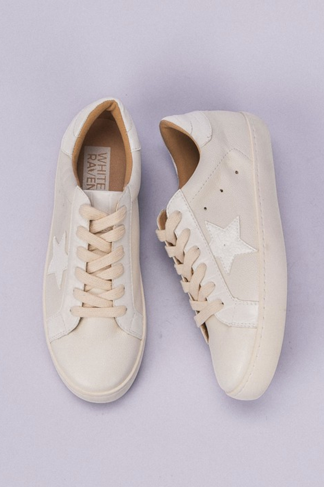 miracle miles  Star Design Sneaker - Front Full Image