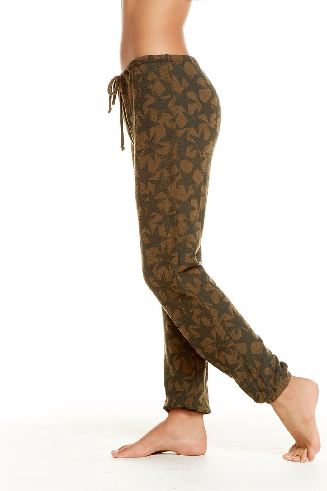 Chaser Star Drawstring Pants - Front Full Image