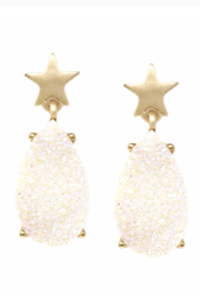 US Jewelry House Star Drop Earring - Product Mini Image