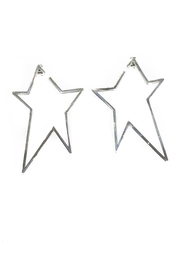 Lets Accessorize Star Earrings - Product Mini Image