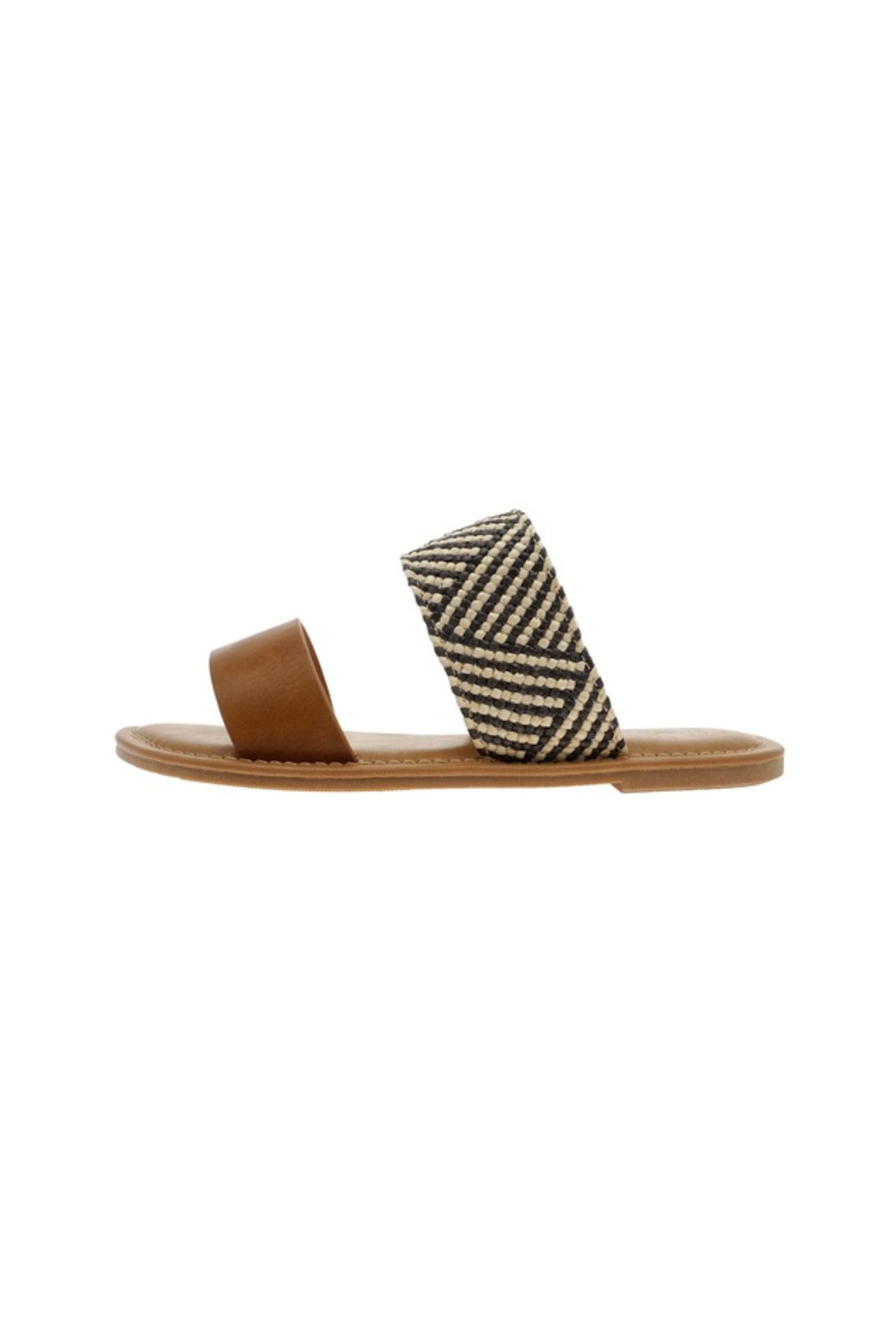 Pierre Dumas Star Flat Sandal - Front Cropped Image