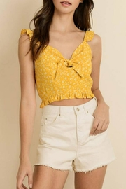 dress forum Star Floral Crop - Front cropped