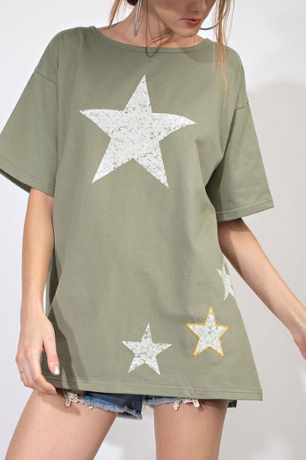 easel Star Graphic Tee - Main Image