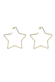 Secret Box Star Hoop Earrings - Product Mini Image