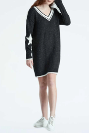 Kersh Star Jacquard Sweater Dress - Product Mini Image
