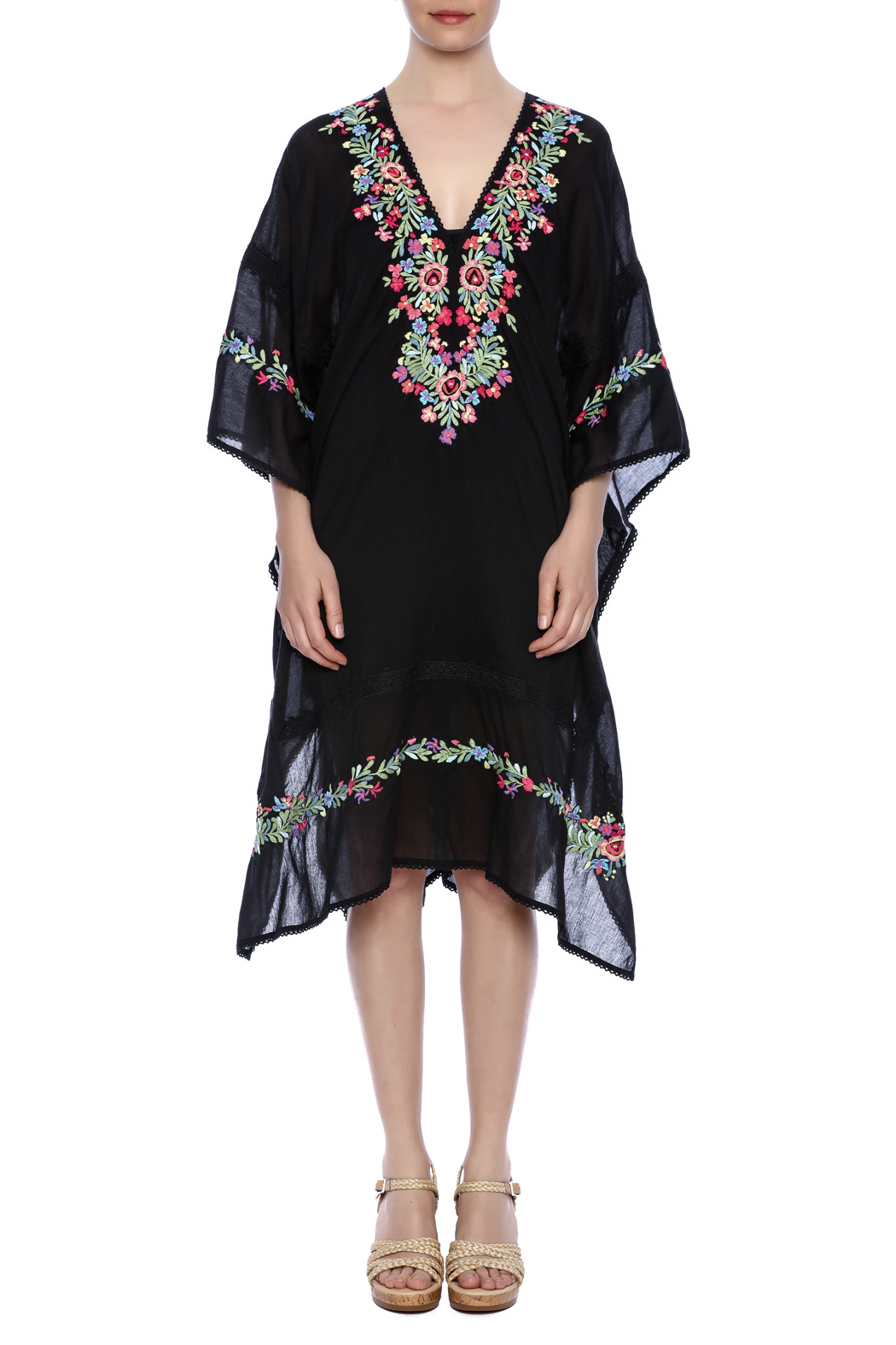 Rosa Embroidered Caftan