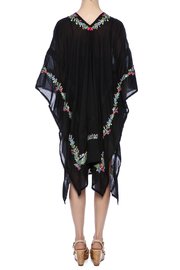 Shoptiques Product: Rosa Embroidered Caftan - Back cropped