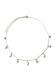 Lets Accessorize Star & Moon Choker - Product Mini Image