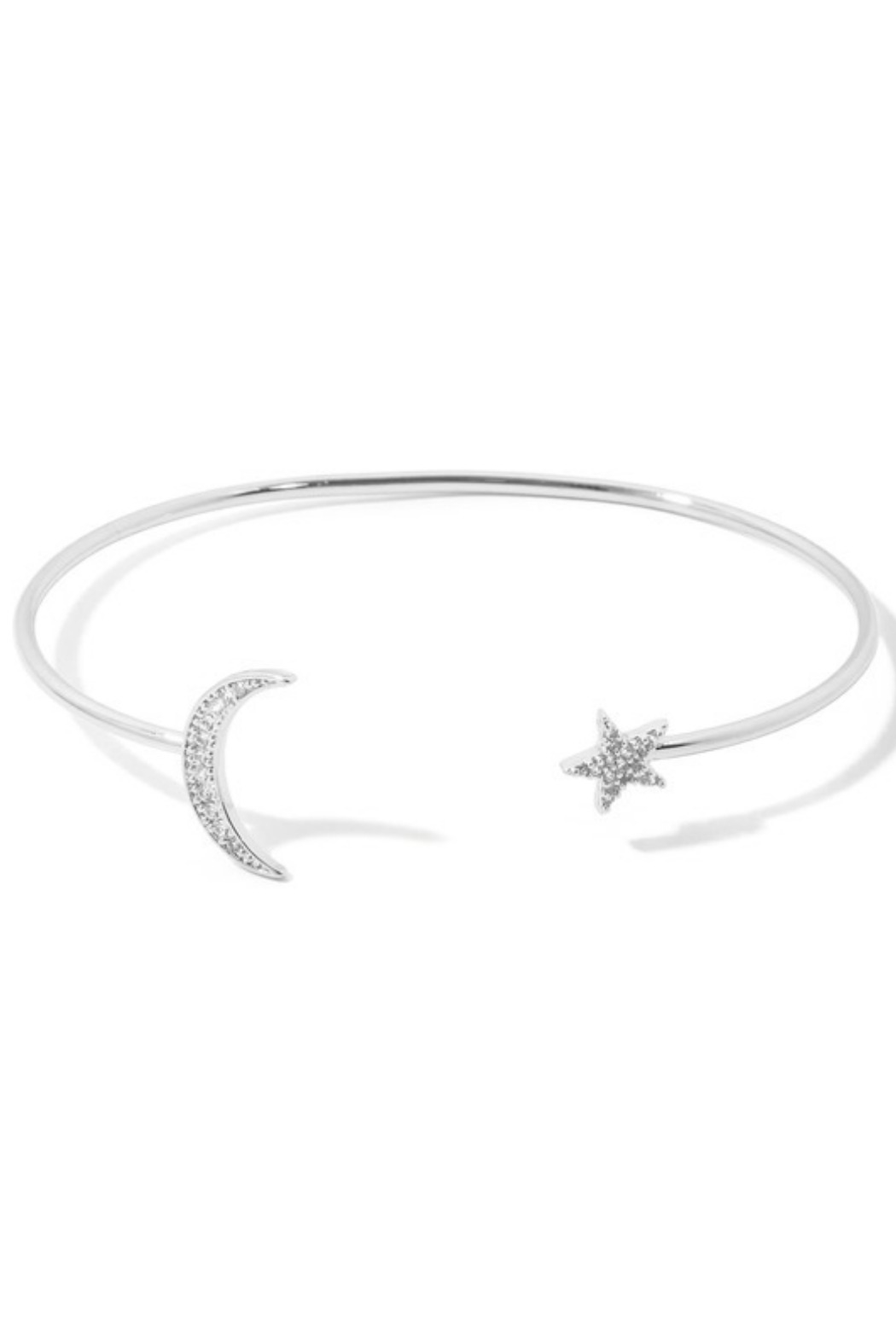 Anarchy Street Star + Moon Cuff Bracelet - Main Image