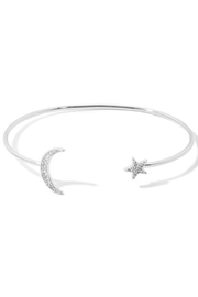 Anarchy Street Star + Moon Cuff Bracelet - Front cropped