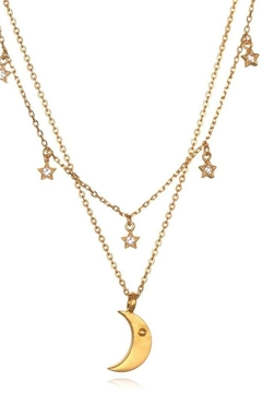 Satya Star-Moon Faux Necklace - Product List Image