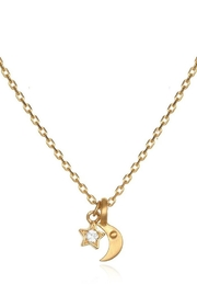 Satya Star Moon Necklace - Product Mini Image
