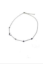 Lets Accessorize Star-Moon Necklace - Product Mini Image