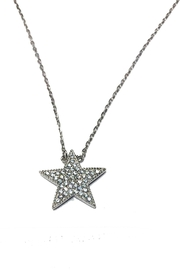 Lets Accessorize Star Necklace - Front cropped