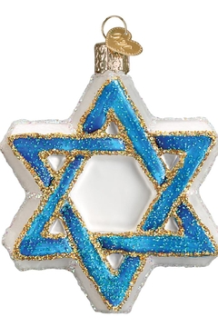 Old World Christmas Star Of David - Alternate List Image