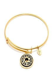 Chrysalis Star-Of-David Gold Bangle - Product Mini Image
