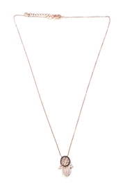 Lets Accessorize Star-Of-David Hamsa Necklace - Product Mini Image