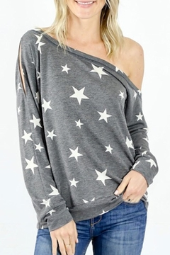 Six Fifty Star One-Shoulder Top - Alternate List Image
