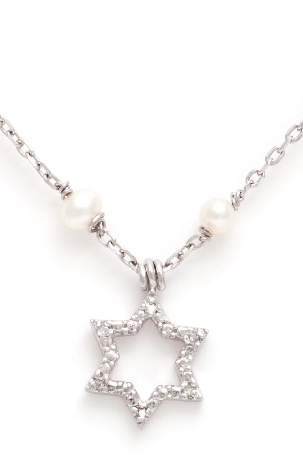 Lau International Star Pearl-diamond Necklace - Main Image