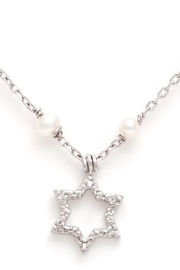 Lau International Star Pearl-diamond Necklace - Product Mini Image