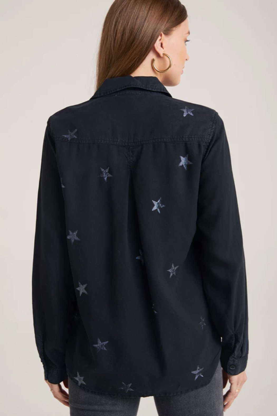Bella Dahl Star Pocket Button Down - Front Full Image