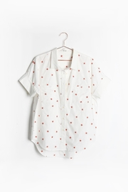 Mod Ref Star-Print Boyfriend Top - Product Mini Image