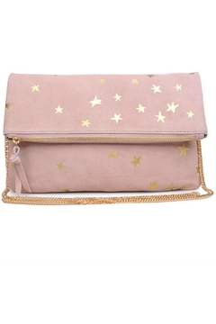 Moda Luxe Star Print Clutch - Product List Image