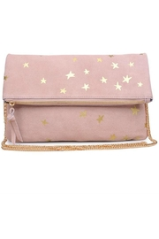 Moda Luxe Star Print Clutch - Product Mini Image