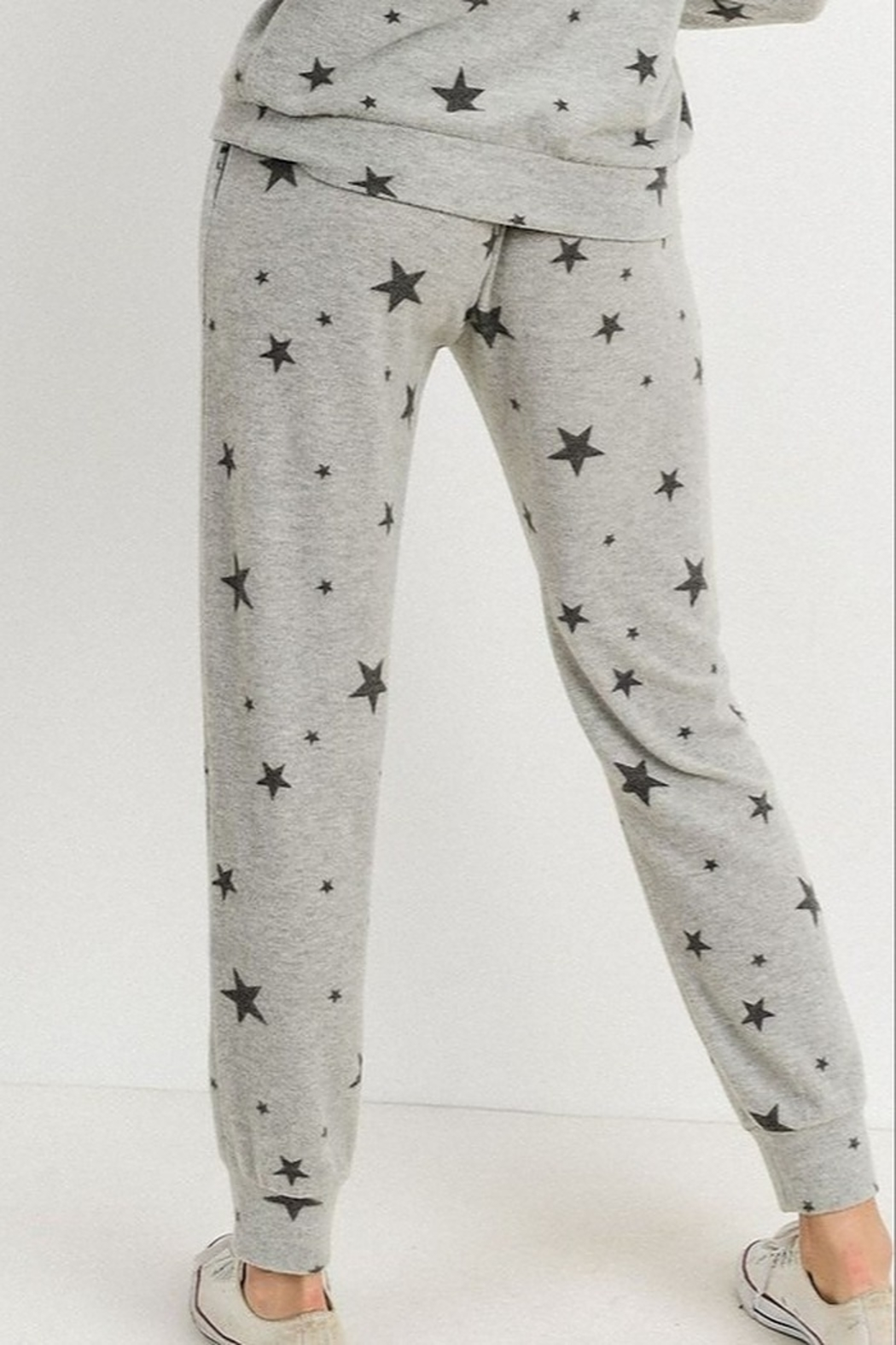 Papercrane Star Print Jogger - Side Cropped Image