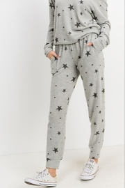 Papercrane Star Print Jogger - Front cropped