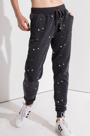 z supply Star Print Jogger - Front cropped