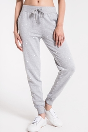 z supply Star Print Joggers - Product Mini Image