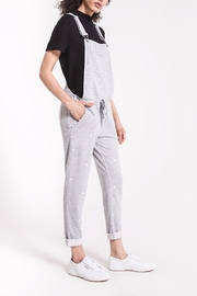 z supply Star Print Overalls - Front cropped