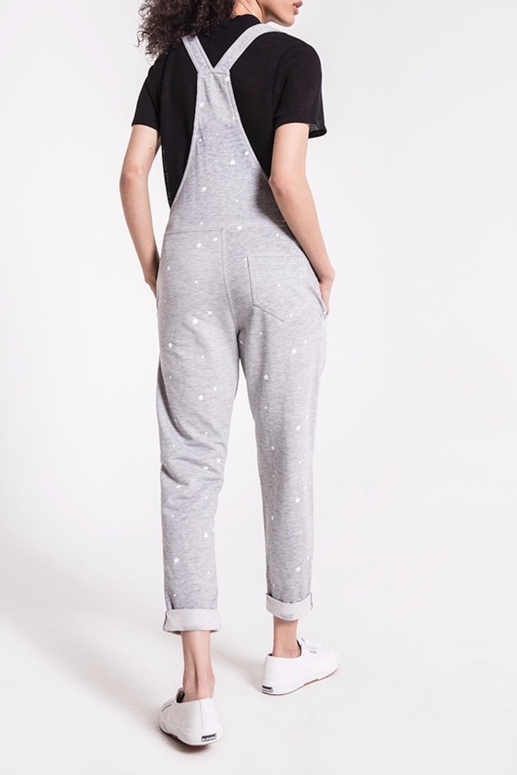 z supply Star Print Overalls - Side Cropped Image