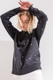 z supply Star Print Pullover - Back cropped