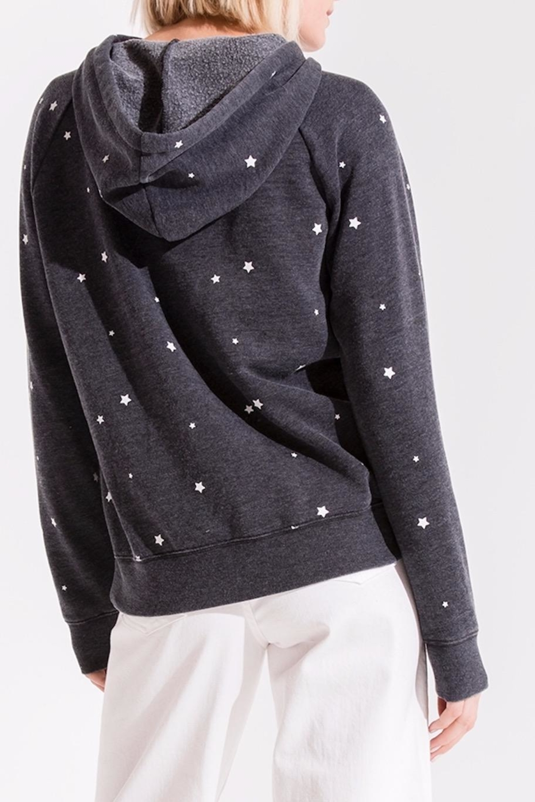 z supply Star Print Pullover - Front Full Image
