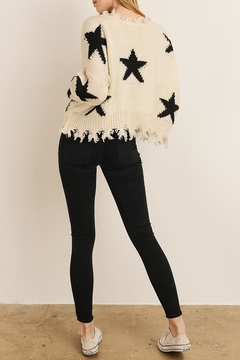 storia Star Print Sweater - Product List Image