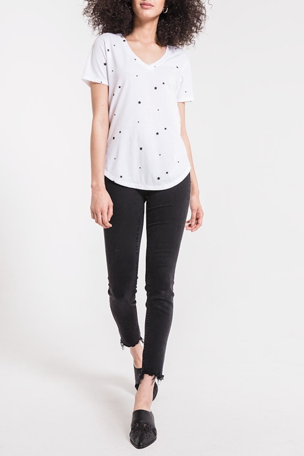 z supply Star Print Tee - Front Full Image