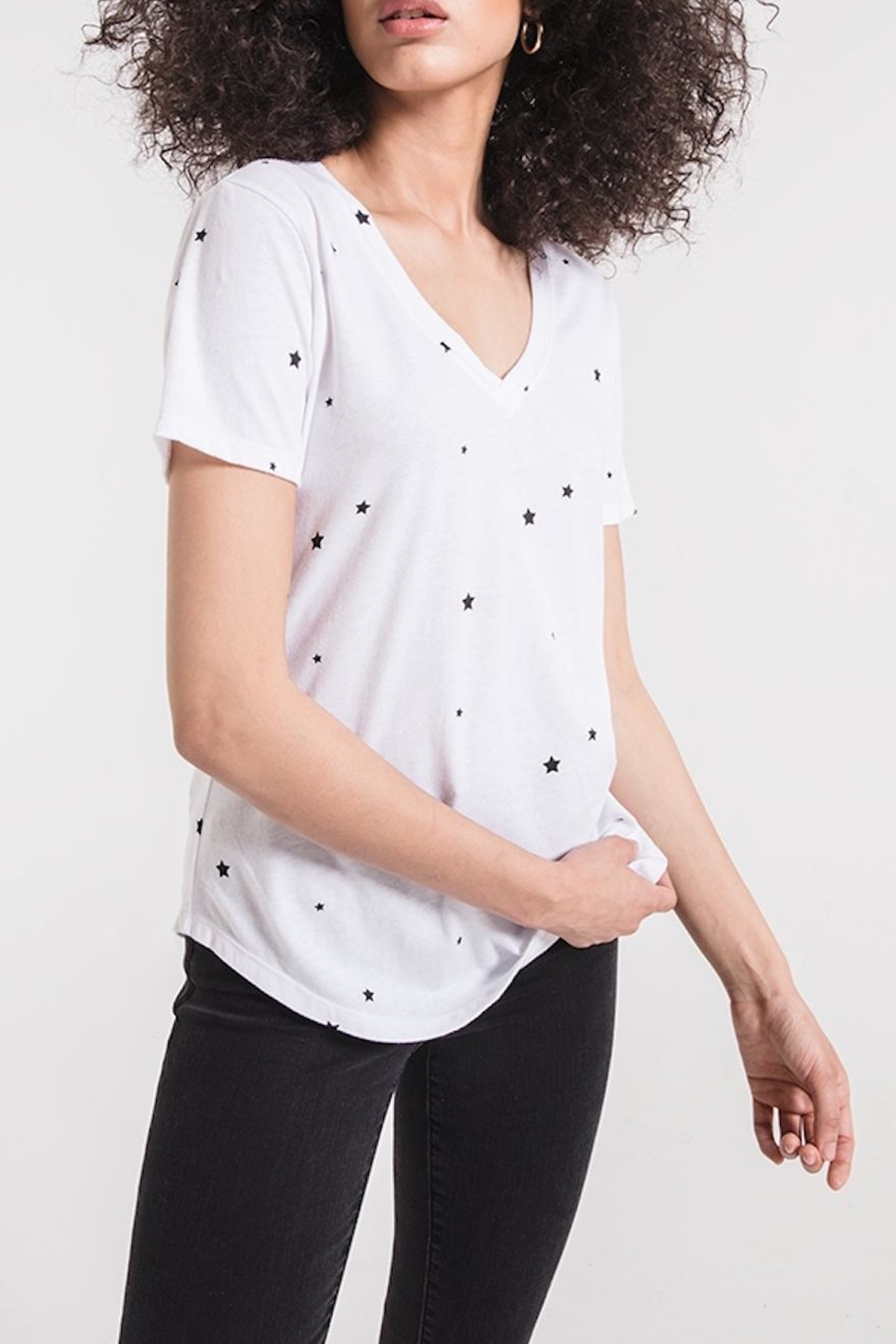 z supply Star Print Tee - Side Cropped Image